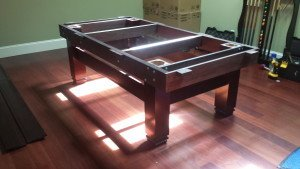 Pool and billiard table set ups and installations in Biloxi Mississippi